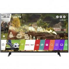 Televizor LG LED Smart TV 65 UJ620V 165cm 4K Ultra HD Black - Televizor LED