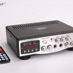 PROMOTIE! STATIE AUDIO 60watt CU MIXER KARAOKE,MP3 USB,AFISAJ LCD+BONUS MICROFON