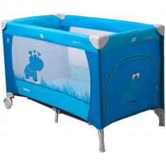Patut pliabil Samba - Coto Baby - Albastru - Sac de dormit copii
