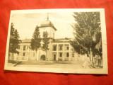 Ilustrata -Manastirea Varatic- Intrarea Principala circ.1939cu stamp. Manastirii, Circulata, Printata