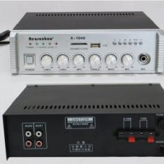 Amplificator de Linie 100V 40W Audio Statie Amplificare WVNGR X-1040 Radio USB - Amplificator audio