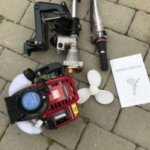 MOTOR BARCA in 4 timpi Vorskla PMZ 4000 2.4 HP 1.7KW