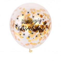 Baloane confetti Happy BIrthday - Baloane copii Disney