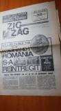 Ziarul zig-zag 26 noembrie-2 decembrie 1990-art. despre marea unire de la 1918