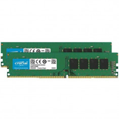 Memorie Crucial 32GB DDR4 2666MHz CL19 1.2v Dual Ranked x8 Dual Channel Kit - Memorie RAM