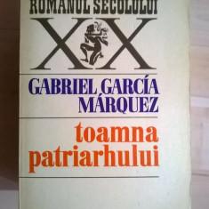Gabriel Garcia Marquez – Toamna patriarhului - Roman