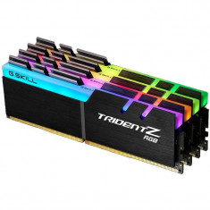 Memorie GSKill Trident Z RGB 32GB DDR4 3200 MHz CL16 1.35v Quad Channel Kit - Memorie RAM, Peste 16 GB