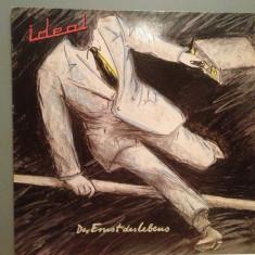 IDEAL (produs de Klaus Schulze) - DER ERNST.. (1981/WEA/RFG) - Vinil/Impecabil - Muzica Pop