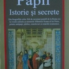 Papii. Istorie si secrete  -  Claudio Rendina