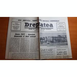 ziarul dreptatea 28 martie 1990-72 de ani de la unirea basarabiei cu romania