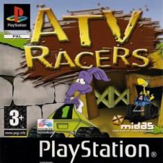 ATV Racers - PS1 [Second hand] - Joc PS1, Actiune, Single player, Toate varstele