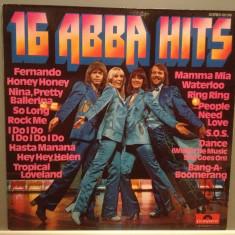 ABBA - 16 ABBA HITS (1976/POLYDOR/RFG) - Vinil/Impecabil/Vinyl (NM+) - Muzica Pop