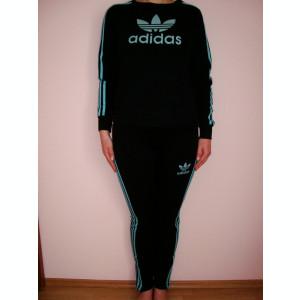 TRENING/TRENINGURI ADIDAS DAMA-3 piese-Bluza+Pantalon+Vesta-Model unicat