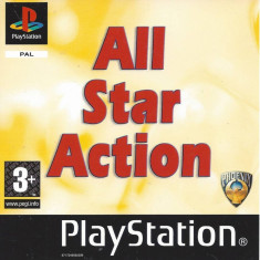 All Star Action - PS1 [Second hand], Multiplayer, Actiune, Toate varstele