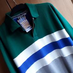 Bluza barbati Tommy Hilfiger MARINES ( original Marines) nr.L NOUA, Marime: L, Culoare: Verde, Polo, Bumbac