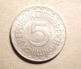 AUSTRIA 5 SCHILLINGI 1952 -UNC, Europa