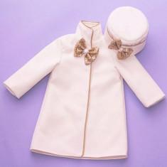 Set paltonas si caciulita Shiny Baby