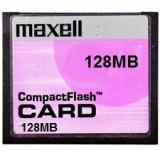 CARD COMPACTFLASH 128Mb  Maxell Compact Flash