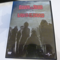 Dawn of the dead , Land of the dead  - George A. Romero  - 2 dvd