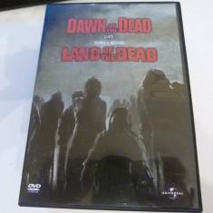 Dawn of the dead , Land of the dead  - George A. Romero  - 2 dvd, Engleza
