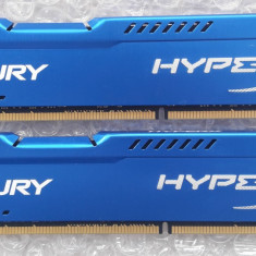 Kit memorii KINGSTON HYPER X FURY 2x8GB 1600Mhz DDR3 - Memorie RAM