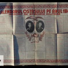 Calendarul ostasului pe anul 1942 - cu portrete - Mihai I si Ion Antonescu