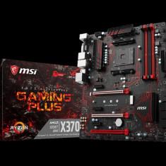 Placa de baza MSI Socket AM4, X370 GAMING PLUS, AMD® X370 Chipset, 4 *DDR4 DIMM, 1866/ 2133/ 2400/ 2667(OC)/ 2933(OC)/ 3200(OC)+ MHz, 3*PCI- bulk, Altul, ATX