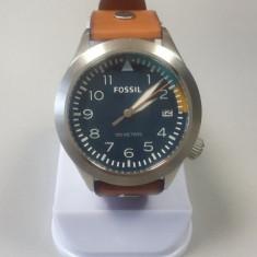 Vand ceas Fossil Blue Dial Tan Leather Men's Watch AM4554 - Ceas barbatesc Fossil, Quartz