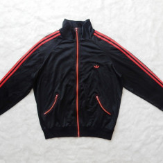 "Hanorac vintage Adidas Logo ""Crown""; marime 56, vezi dimensiuni exacte; ca nou - Hanorac barbati, Culoare: Din imagine"