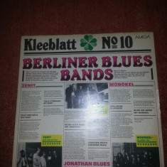 Berliner Blues Band-Jonathan Blues Band/Zenit/Monokel vinil vinyl - Muzica Blues