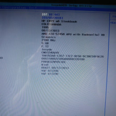 PLACA DE BAZA LAPTOP HP Envy M6 PROCESOR AMD A10 5745m DDR3 LA-9851P FUNCTIONALA