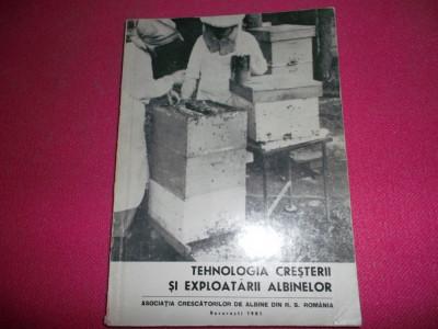 Tehnologia Cresterii Si Exploatarii Albinelor foto