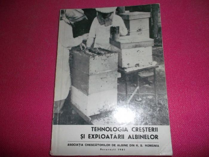Tehnologia Cresterii Si Exploatarii Albinelor