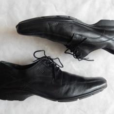 Pantofi de gala Varese piele naturala, talpa Gommar; marime 42(28 cm); ca noi - Pantofi barbat, Culoare: Din imagine