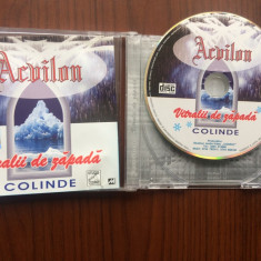 Acvilon colinde vitralii de zapada album cd disc muzica sarbatori folclor