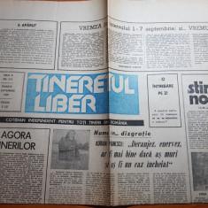 Ziarul tineretul liber 1 septembrie 1990-interviu adrian paunescu