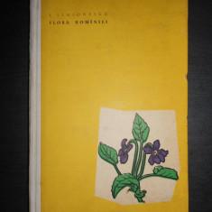 I. SIMIONESCU - FLORA ROMANIEI (1960)