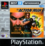 Action Man Mission Xtreme - Best of Infogrames - PS1 [Second hand], Multiplayer, Actiune, Toate varstele