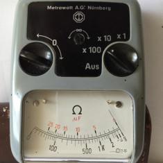 Multimetru analog / aparat masura metrawatt AG.Nürnberg - Multimetre