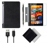 Pachet Accesorii pentru tableta Lenovo Yoga 3 YT3-X50M, YT3-X50F BOOK BLACK 10.1 inch, Oem