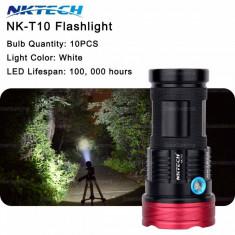 Monsterlight set lanterna 10 x cree xml t6 Cree-inc 11.000lm 100w