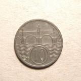 BOEMIA SI MORAVIA 10 HALERU 1941 -UNC
