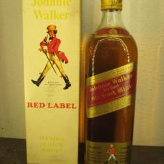 RARE whisky johnnie walker, red label, cl 75 gr 40 ani 60/70