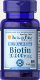 Biotina 10000 mcg, 100 tablete, tratament cadere par