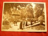 Ilustrata - Bistrita - Vedere din Parc , circulat 1957