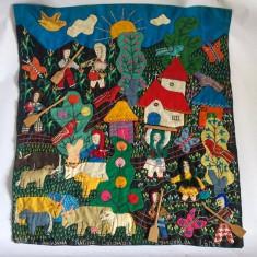 Tabloas textil Columbia, 34x30cm