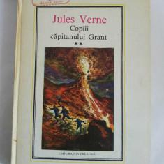 Jules Verne - Copiii capitanului Grant, vol II, 1981, Ed. Ion Creanga - Carte de aventura