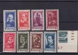 ROMANIA 1947  LP 215  LP 216  INSTITUTUL DE STUDII ROMANO-SOVIETICE SERIE MNH