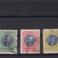 ROMANIA 1930 LP 88 CAROL II - LONDRA SERIE STAMPILATA - Timbre Romania