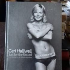 GERI HALLIWELL JUST FOR THE RECORD - CARTE DE FOTOGRAFIE - Carte Fotografie